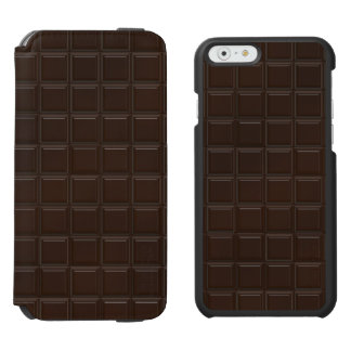 Chocolate pattern incipio watson™ iPhone 6 wallet case
