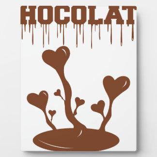 Chocolate Plaque