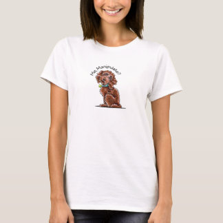 Chocolate Poodle Mix Me Manipulate T-Shirt