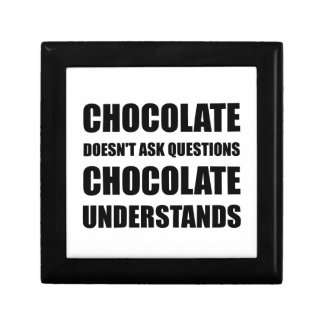 Chocolate Questions Understands Gift Box