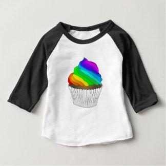 Chocolate Rainbow Cupcake Baby T-Shirt