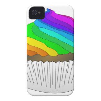 Chocolate Rainbow Cupcake Case-Mate iPhone 4 Case