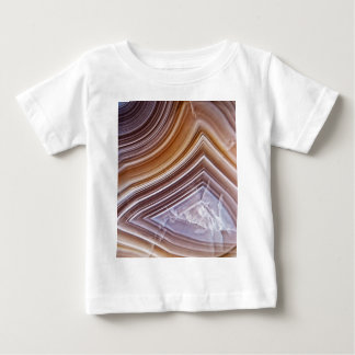 Chocolate Ribbons Agate Baby T-Shirt