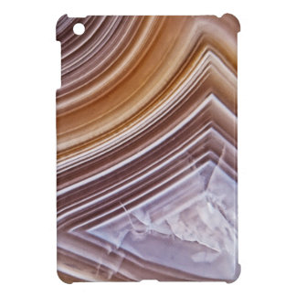 Chocolate Ribbons Agate Case For The iPad Mini