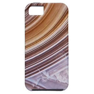 Chocolate Ribbons Agate iPhone 5 Covers