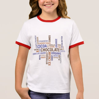 Chocolate Ringer T-Shirt