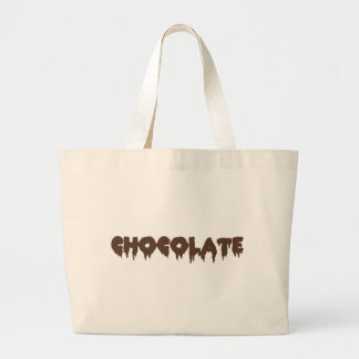 Chocolate - Rocky Horror Style Large Tote Bag