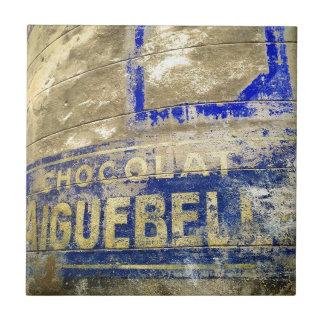 Chocolate Sign Tile