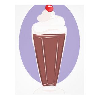 Chocolate Soda Letterhead Template