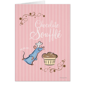 Chocolate Souffle Card