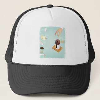 Chocolate Soufflé Day - Appreciation Day Trucker Hat