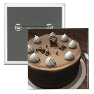 Chocolate Space 2 Button