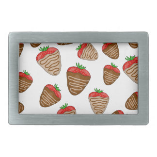 Chocolate strawberies belt buckles