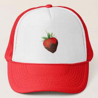 Chocolate Strawberry Trucker Hat