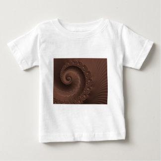 Chocolate Swirl Fractal Baby T-Shirt
