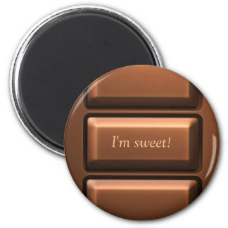 Chocolate Tablet Magnet