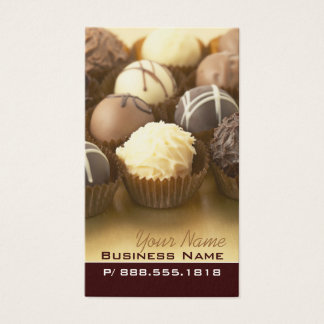 Chocolate Truffles Business Cards