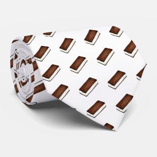 Chocolate Vanilla Ice Cream Sandwich Foodie Tie