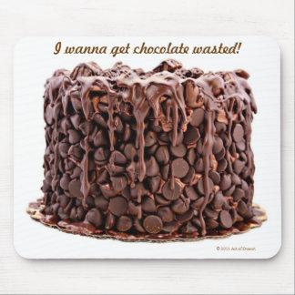 Chocolate Wasted Cake mousepad