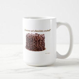 Chocolate Wasted Cake mug
