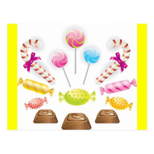 Chocolates3 Postcard