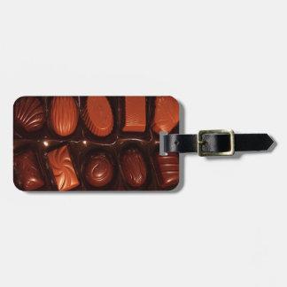 Chocolates Luggage Tag