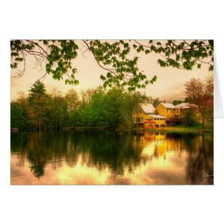 Chocorua Pond Card