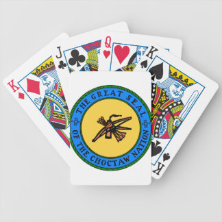 Choctaw Seal Bicycle Playing Cards