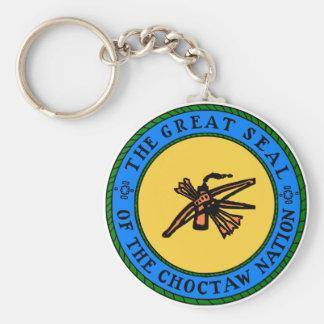 Choctaw Seal Keychain