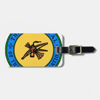 Choctaw Seal Luggage Tag