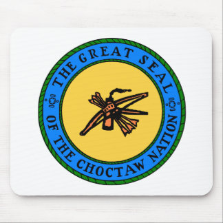 Choctaw Seal Mouse Pad