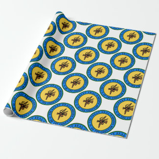 Choctaw Seal Wrapping Paper
