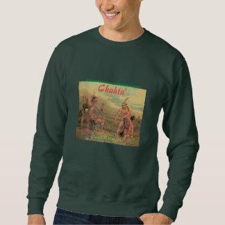 """Choctaw Vintage Stick Ball"" Sweatshirt"