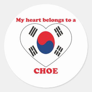 Choe Sticker Rond