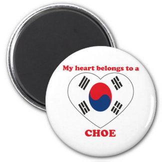 Choe Magnet Rond 8 Cm