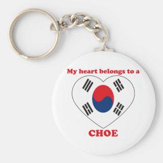 Choe Porte-clé Rond
