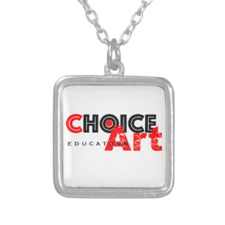 Choice-Art Educators Silver Plated Necklace
