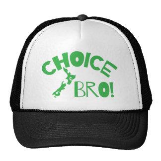 Choice Bro (Kiwi New Zealand map) Trucker Hat