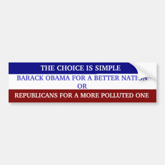 CHOICE BUMPER STICKER