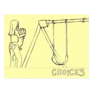 Choices Postcard