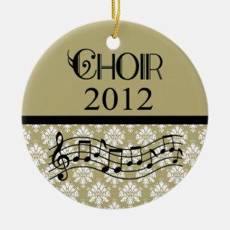 Choir 2012 Music Ceramic Ornament