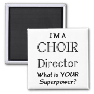 Choir director square magnet
