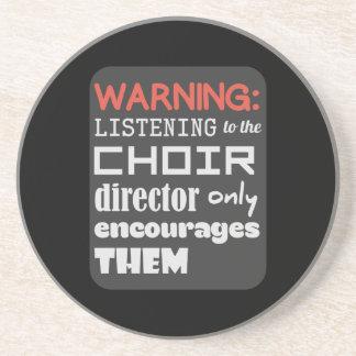 Choir Music Humor Coaster