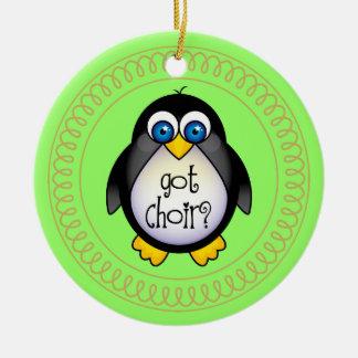 Choir Music Penguin Ornament Gift