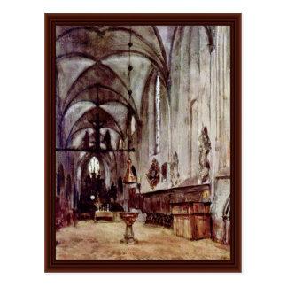 Choir Of The Old Monastery Church In Berlin Postcard