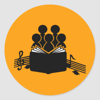 Choir Round Sticker