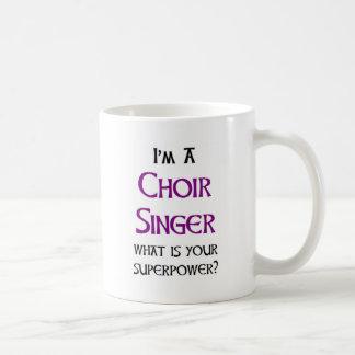 choir singer coffee mug