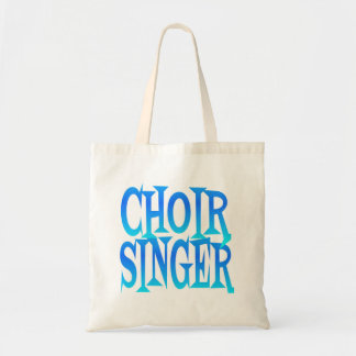 Choir Singer Tote Bag