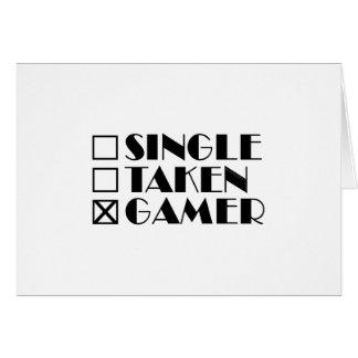 Choisissez pris ou Gamer Carte De Vœux
