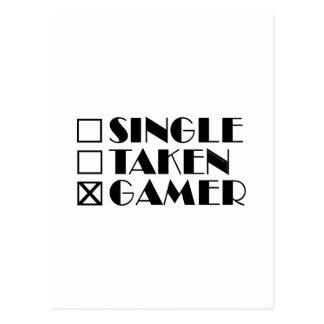 Choisissez pris ou Gamer Cartes Postales
